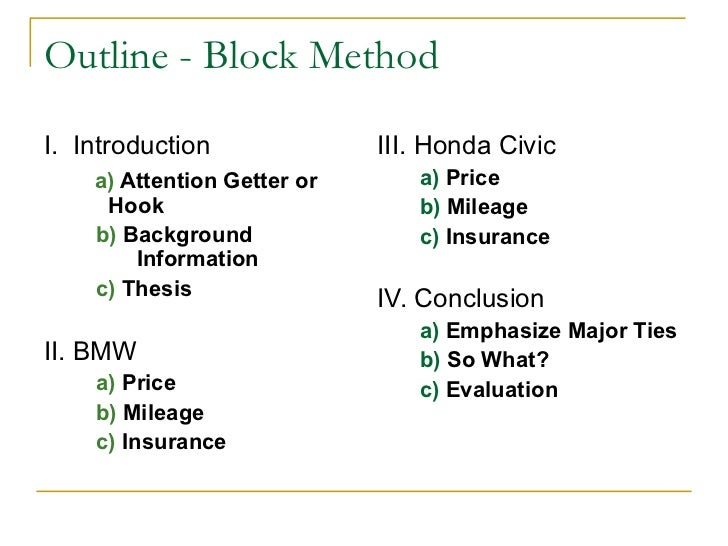 Comparative Essay Example Block Method Writing - image 4