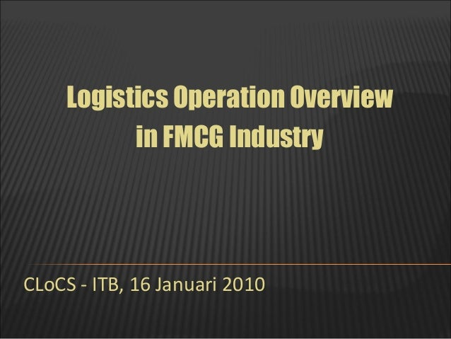 demand and supply of fmcg industry