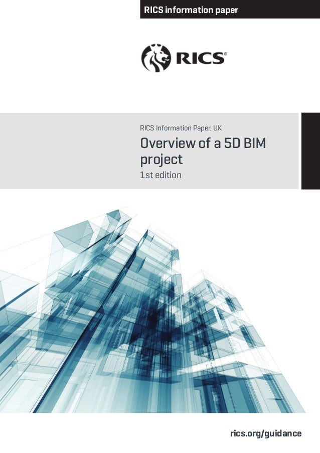 Overview of 5d bim project 1st edition 2014 for Project 5d