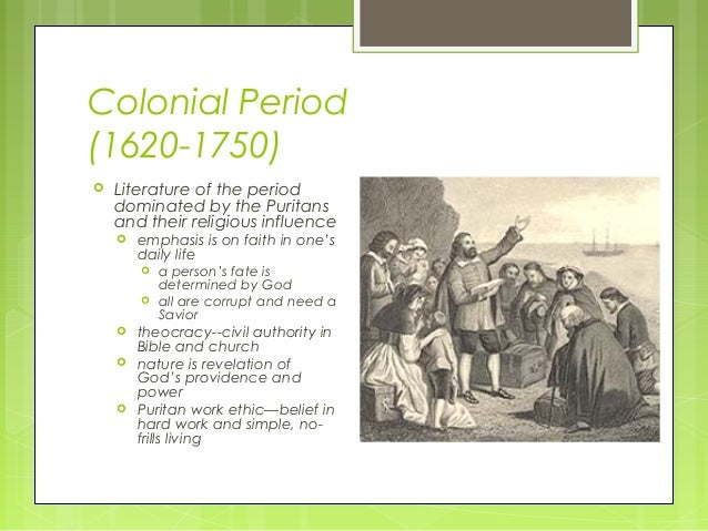 Early American Colonial Period Essay Topics