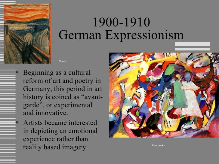 Overview of art history