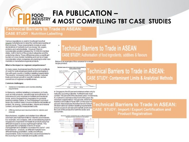 overview of technical barriers to trade tbt And technical barriers to trade may for increasing food and agricultural exports from guyana 47 tbt measures for increasing food and agricultural exports.
