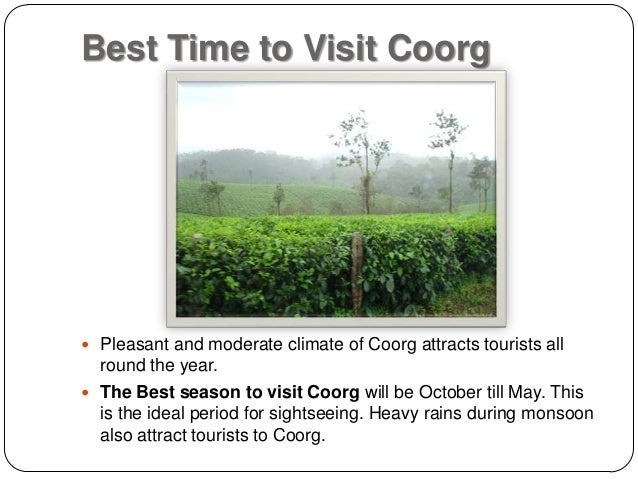 Overview of coorg