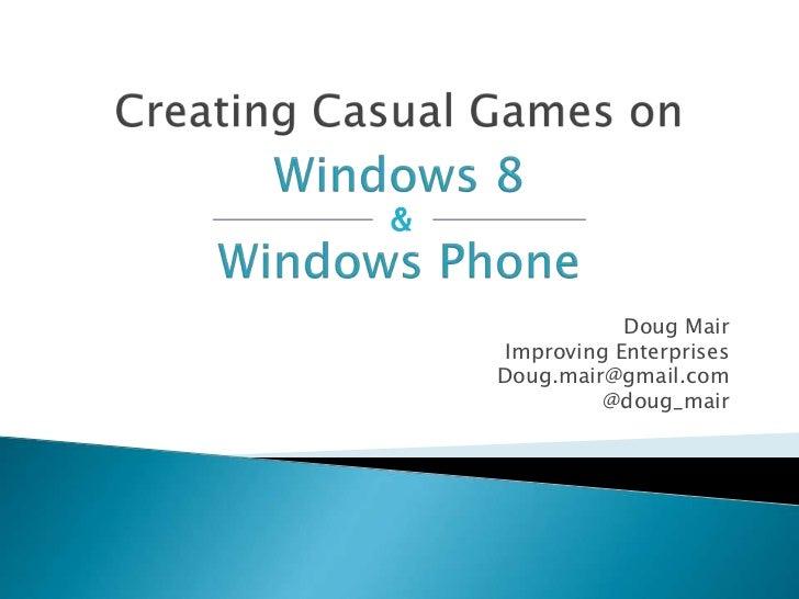 &                Doug Mair     Improving Enterprises    Doug.mair@gmail.com              @doug_mair