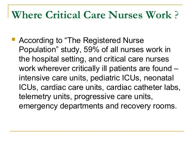 Do Nurse Acute Care Nurse Practitioners Work In Emergency Rooms