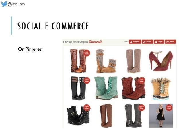 @mhijazi SOCIAL E-COMMERCE On Pinterest