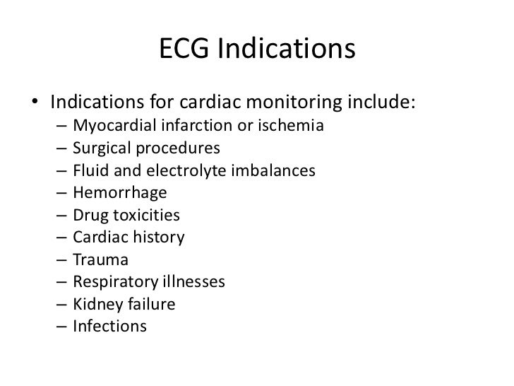 Overview of ecg part 1