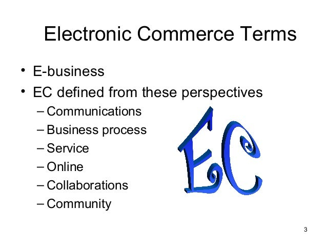 a brief overview of e commerce Electronic commerce, mba581 instructor: dr ashraf attia office: 109a swetman hall the structure of the paper would start by providing a brief overview what is the future of e-commerce pertaining to the global market is e-commerce expected to take over.