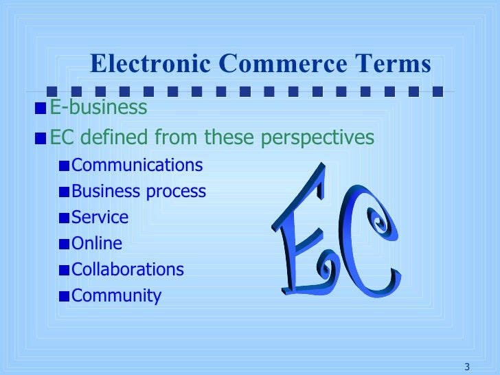 chap1 overview of electronic commerce This invaluable overview includes: basics - how electronic commerce works in  the real  in chapter 1, the author starts with a short historic review of electronic .
