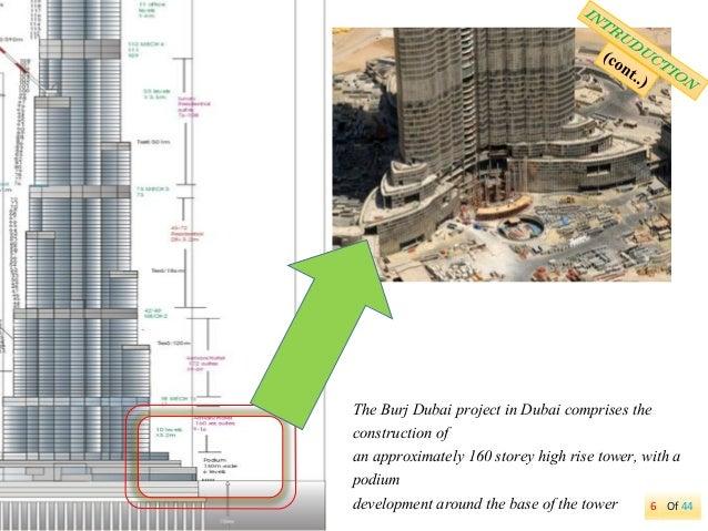 Overview Of Foundation Design For The Burj Dubai