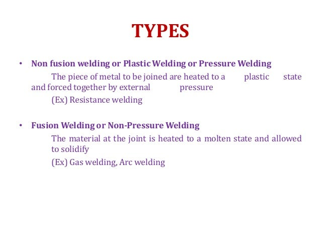 Electric resistance welding