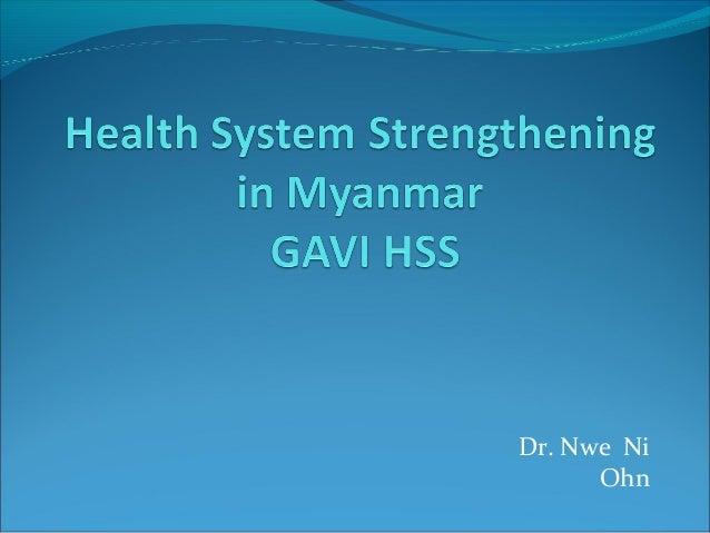 Dr. Nwe Ni Ohn