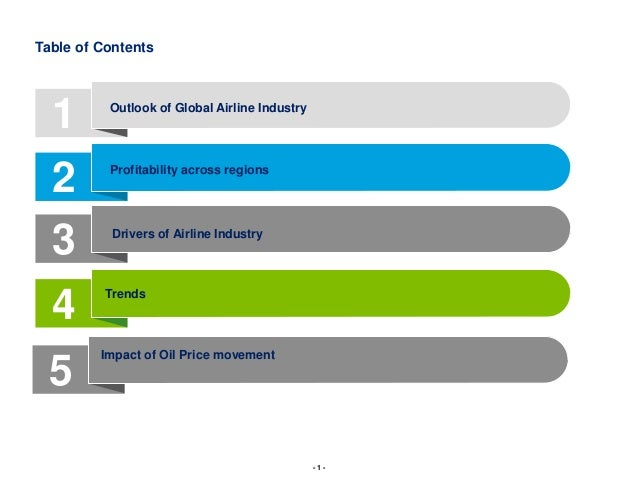airline industry overview Overview of airline industry information technology essay an airline is a company that provides air transport services to travelling passengers and freight.