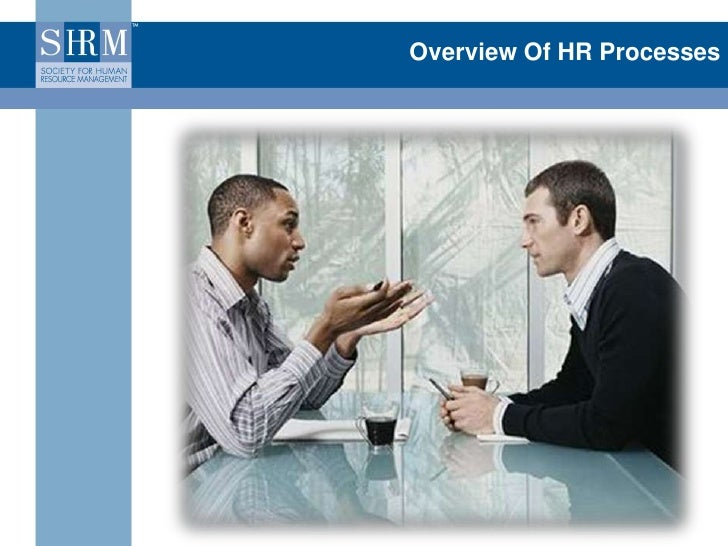 Overview Of HR Processes