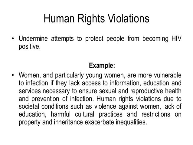 An Overview Of Human Rights Health Related Rights Hivaids In Kenya