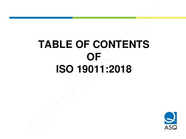 Overview of ISO 19011:2018 Guidelines for Auditing