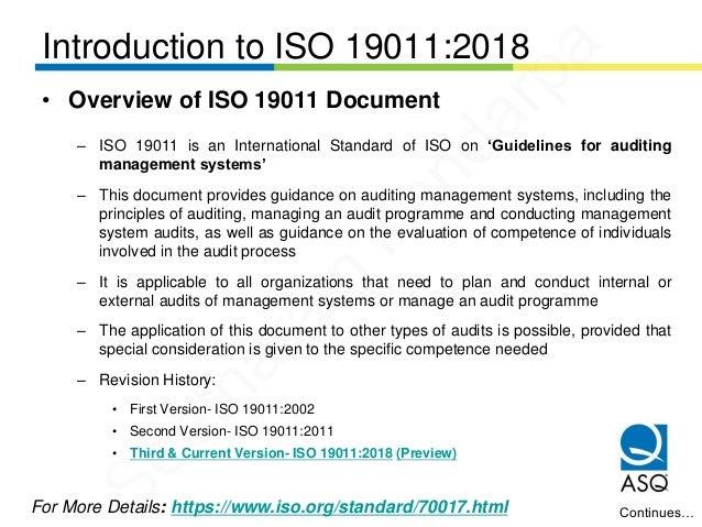 iso 19011 version 2018 pdf descargar