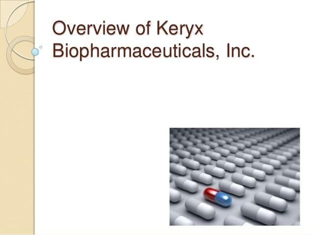 Overview of Keryx Biopharmaceuticals, Inc.