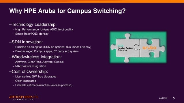 Overview of Major Aruba Switching Features incl  Smart Rate for Multi…