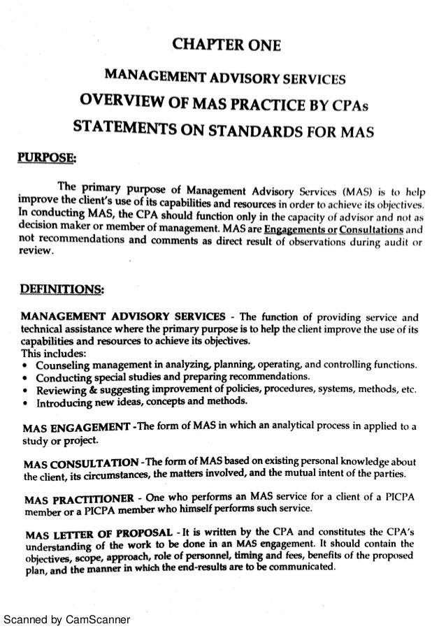 Overview of management advisory services practice by cpas spiritdancerdesigns Choice Image