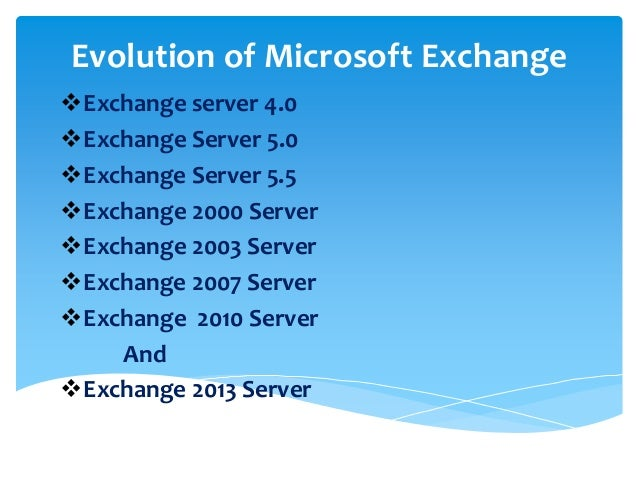 Microsoft Exchange Server 2019 for Business