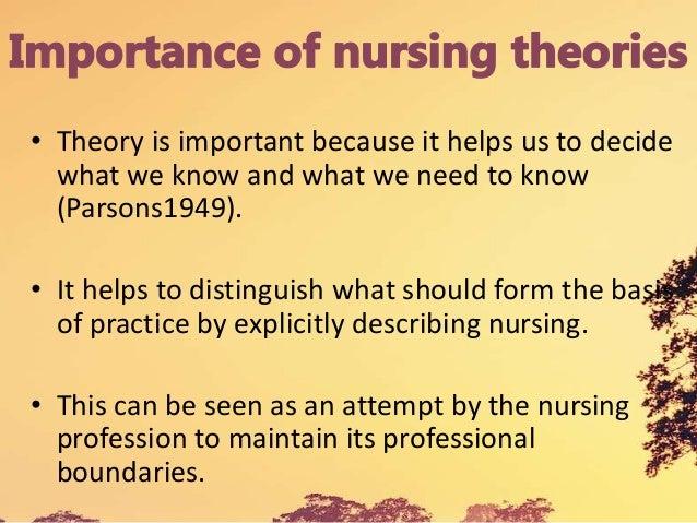 nursing theory the basis for professional nursing