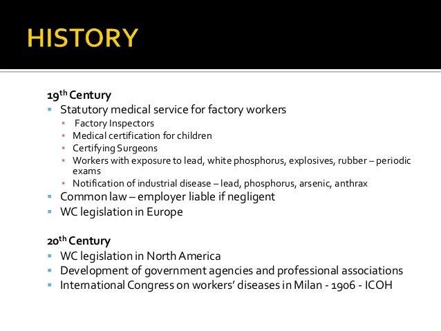 Overview Of Occupational Disease Dr Wayne Ramlogan