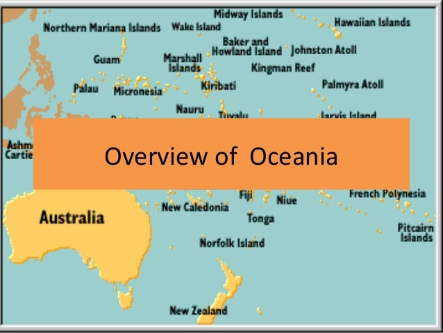 Overview of Oceania
