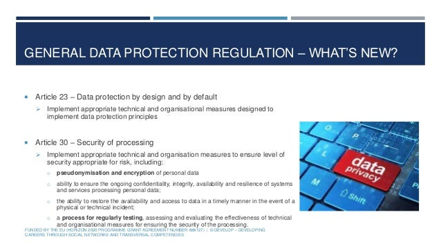 an overview of personal data protection The general data protection regulation (eu) 2016/679 (gdpr) is a regulation  in eu law on data protection and privacy for all individuals within the european  union (eu) and the european economic area (eea) it also addresses the export  of personal data outside the eu and eea areas  their right to view their  personal data and access an overview of how it is.