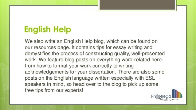 proofread my essay Online proofreading service: hire professional essay proofreaders students are under a great pressure to finish quality papers and essays within a very tight deadline.