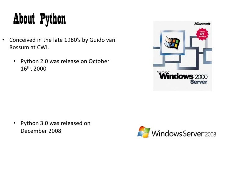 Overview of ... Python Artificial Intelligence Pdf