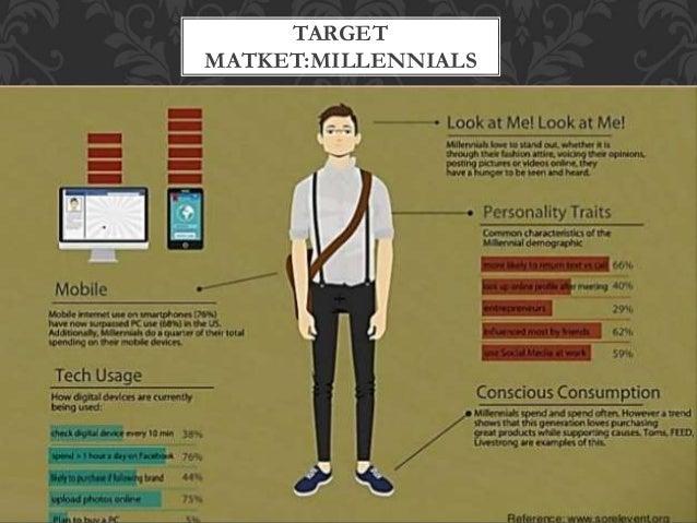 TARGET MATKET:MILLENNIALS