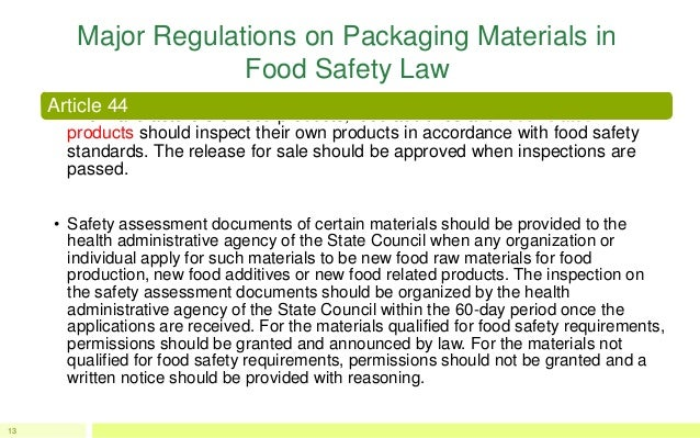 Food laws and standards pdf