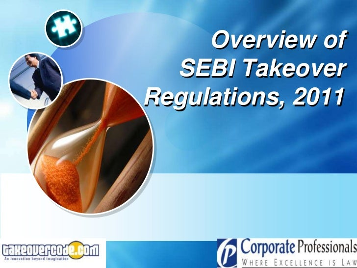 Overview of              SEBI Takeover            Regulations, 20119/10/2012                LOGO