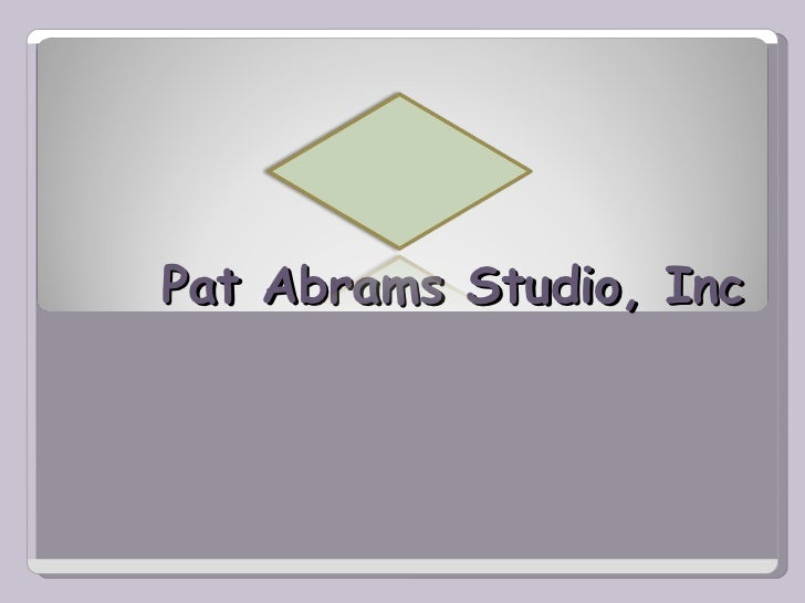 Pat Abrams Studio, Inc