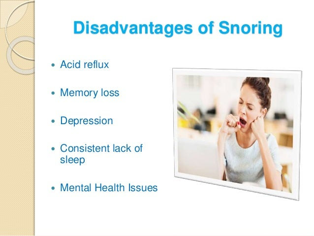 Overview Of Snoring