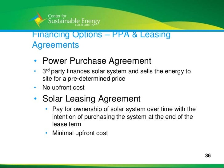 Overview Of Solar Incentive Programs