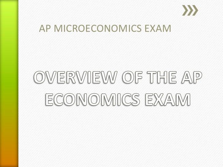 AP MICROECONOMICS EXAM
