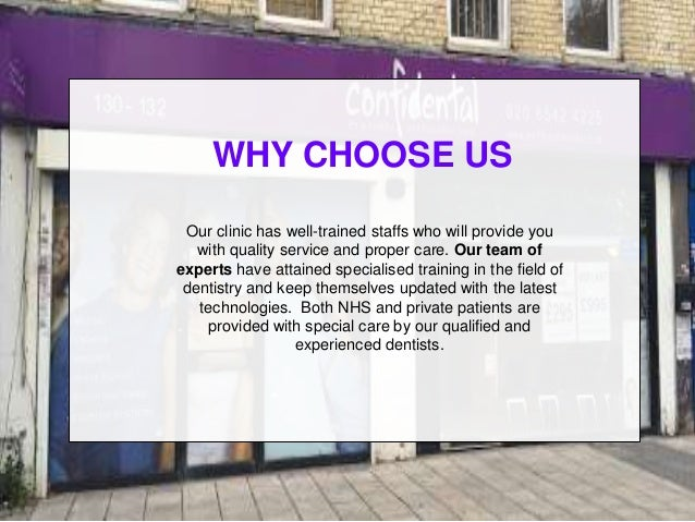 WHY CHOOSE US Our clinic has well-trained staffs who will provide you with quality service and proper care. Our team of ex...