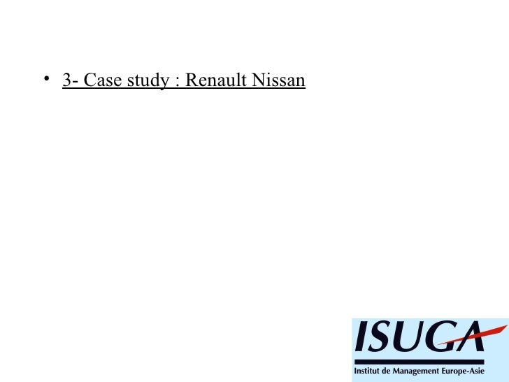 renault nissan case study essays Essay on renault case essay the alliance of nissan and renault created subcommittee that references will be made to the case study of nissan`s automotive.
