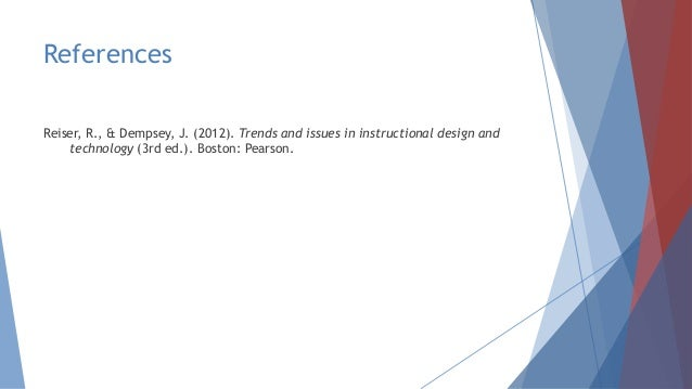 Overview Of The Field Of Instructional Design And