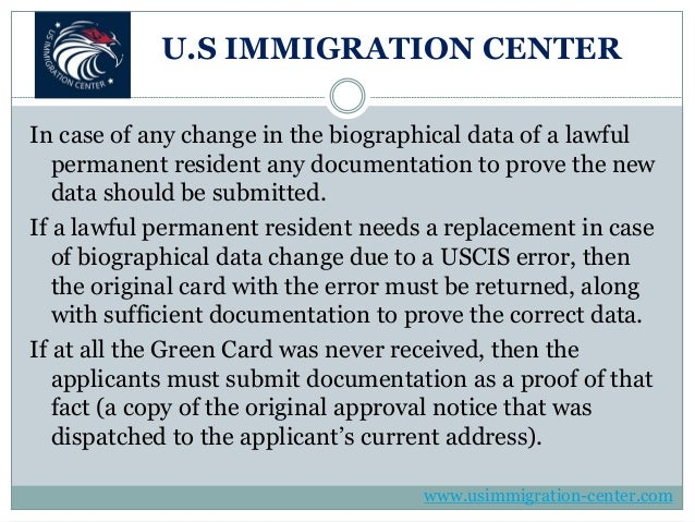 Overview Of The Green Card Renewal Form I 90 Application Process