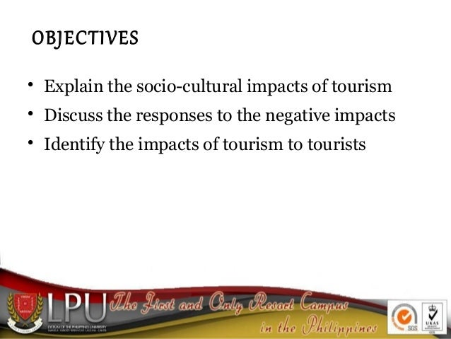 tourism impacts Tourism puts enormous stress on local land use, and can lead to soil erosion, increased pollution, natural habitat loss, and more pressure on endangered species these effects can gradually destroy the environmental resources on which tourism itself depends.