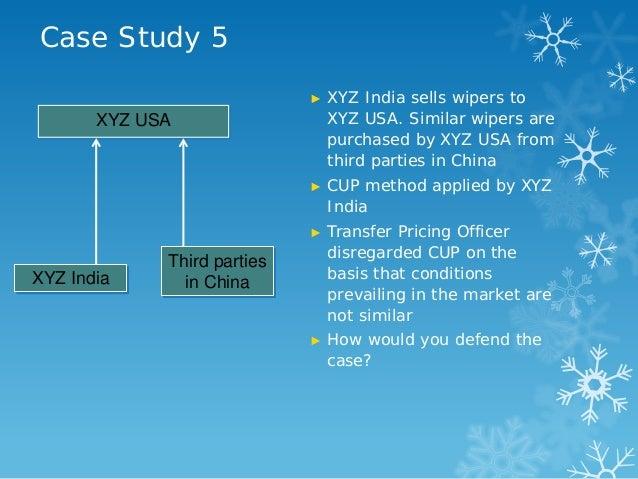 Transfer Pricing Research Paper Starter