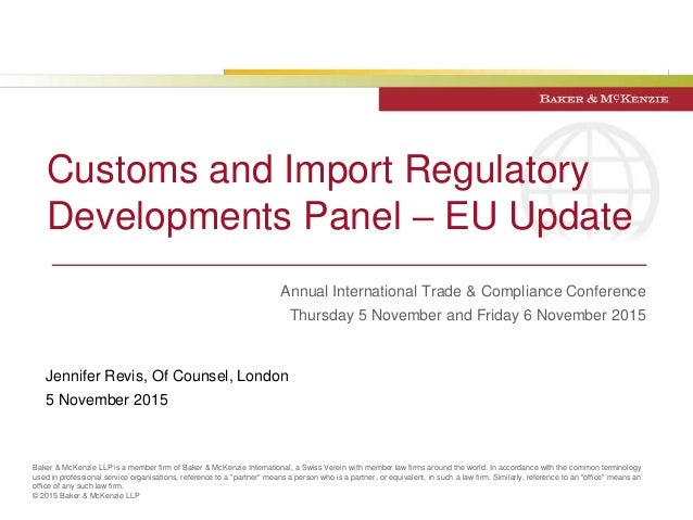 Union Customs Code Overview Of Key Changes To Eu Customs Rules