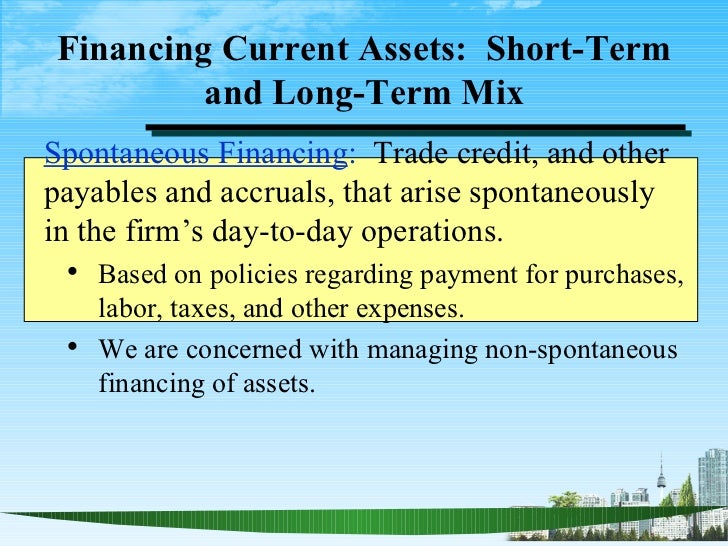 an analysis of the topic of the fixed assets and temporary current assets Know the relevance and importance of effectively managing working capital define liquidity and its relationship with working capital know short-term and.