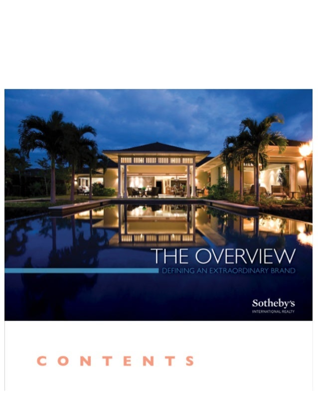|. m|m. hnm  mu I? .m1m. l  THE OVERVIEW  Sotheby's