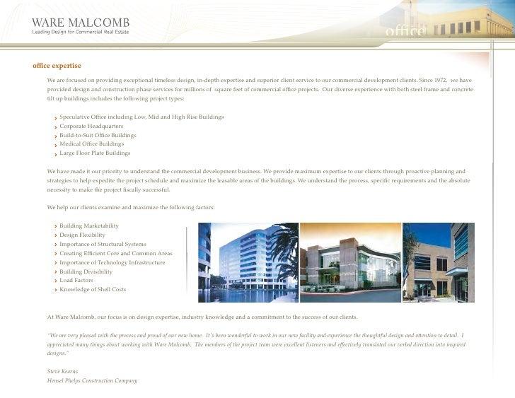 Ware malcomb brochure for 11801 pierce st 2nd floor riverside ca 92505
