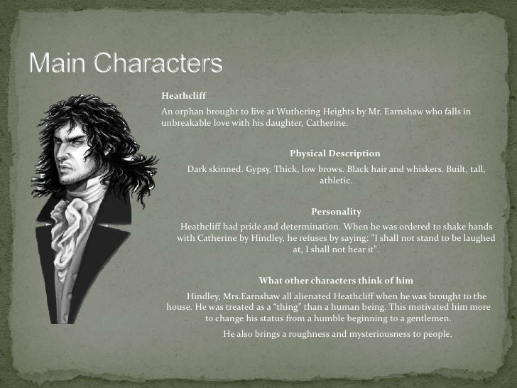 a review of heathcliff as a victim within wuthering heights Emily bronte, in her novel wuthering heights, characterizes the protagonist heathcliff as both a recipient and a perpetrator of the continually domineering forces of both love and revenge existing within the novel through complex interrelationships between all of the characters, the two forces.
