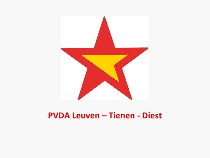 PVDA Leuven – Tienen - Diest